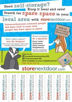 Storenextdoor - guide to finding storage space