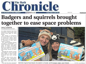Bath Chronicle 15 November 2012